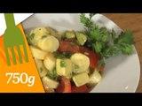 Recette de Salade de coeurs de palmier - 750 Grammes