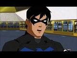 Dick Grayson nightwing & wally West Kid Flash  argue about Kaldur'a aqualad A triple agent