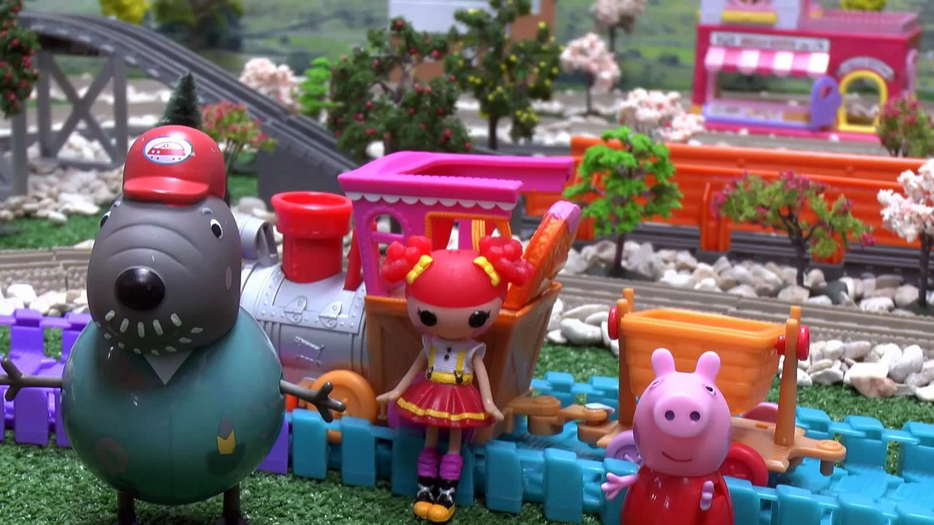 Peppa Pig Lalaloopsy Pocoyo Toy Thomas & Friends Kids Train Story Ember Flicker Flame Hell
