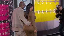 Kim Kardashian & Kanye West MTV Music Awards 2015 - VMA's