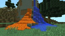 Minecraft shader comparison: Silders Vibrant Shader (lite) vs. Vanilla