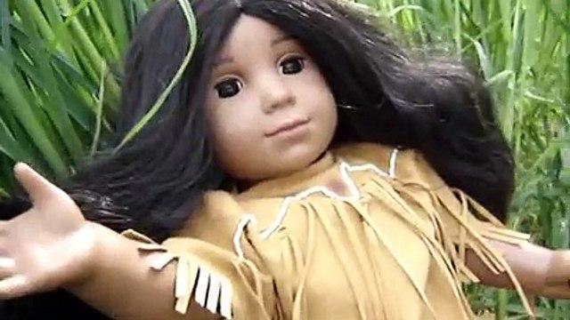 American Girl doll- Kaya and Julies chicken disease disaster
