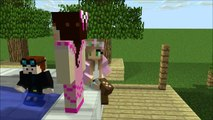 Pat and Jen PopularMMOs Minecraft Vacation Animation TDM - DanTDM little lizard gaming with jen