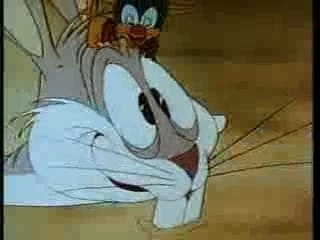 Falling Hare- Looney Toons