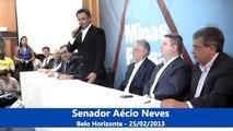 """Aécio Neves - Ciclo de debates """"Minas pensa o Brasil"""" - 25/02/2013"""