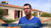 Comme à Moutier-en-Retz, la montée des eaux menace des communes du littoral français