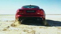 Jaguar & Bloodhound Project partnership announced with F-TYPE Coupé AWD high-speed test