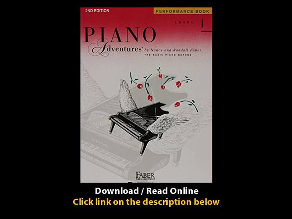 Download Pdf Level 1 Performance Book Piano Adventures Video Dailymotion