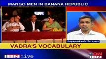"Dr. Jayaparakash Narayan on Robert Vadra Mango Men Row: ""Who is elite - learned/earned/claimed?"""