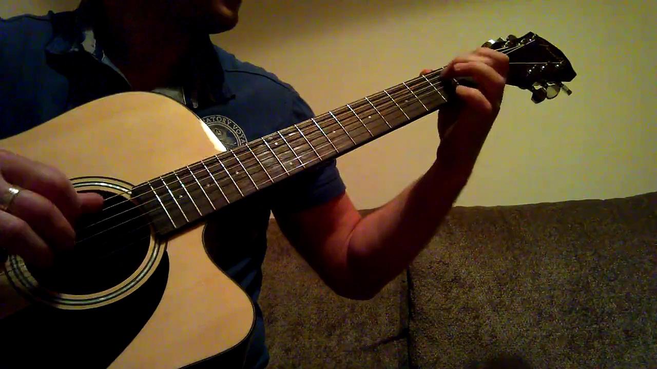 Acoustic guitar ballad song