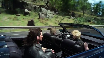 Gameplay voiture PAX Prime de Final Fantasy XV