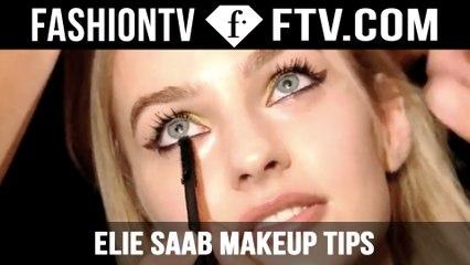 Elie Saab Makeup Tips and Tricks! | FTV.com
