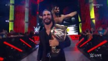 Stephanie McMahon, Triple H, Seth Rollins and Sting Segment