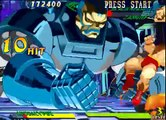 #101 Marvel Super Heroes vs Street Fighter Boss Hack Part 2- Apocalypse playthrough.