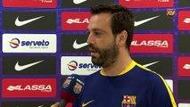 Prèvia FCB Lassa-Monbus Igualada: Les declaracions de Ricard Muñoz i Sergi Fernández [CAT]