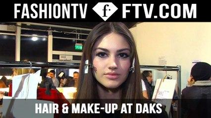 Maria Comparetto Beauty Tips at the Daks Show! | London | FTV.com