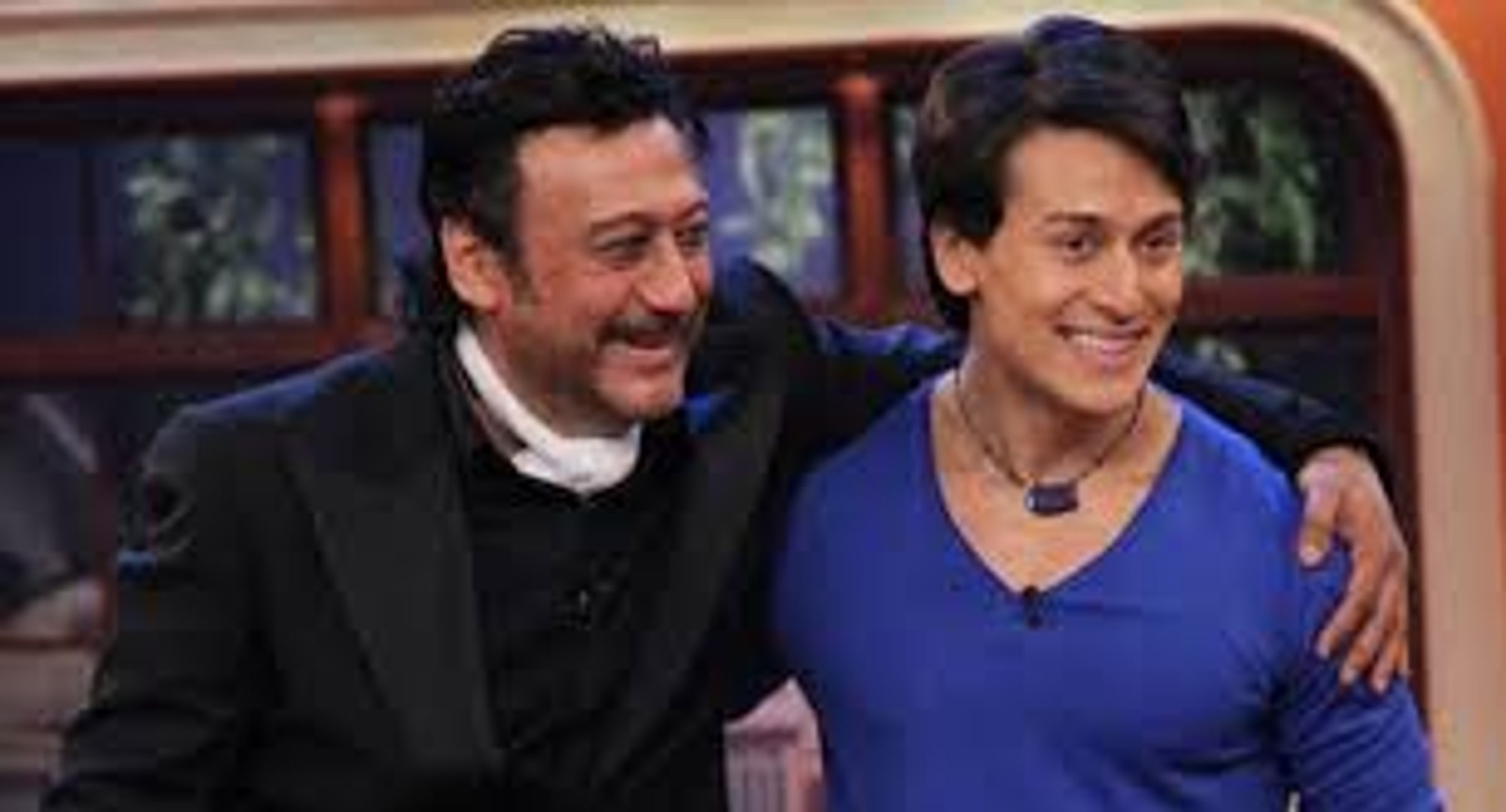 Tiger Shroff  with father Jackie Shroff Latest Breaking News