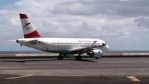 Flughafen Madeira Austrian Airlines Airbus A319-112 - OE-LDG
