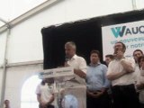 discours du lancement de campagne de Laurent Wauquiez. Dimanche 30 août 2015 au Mont Mézenc