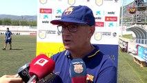 Xavi Llorens, Ruth García y Gemma Gili valoran la victoria en la Copa Catalunya