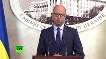 Premier-ministre ukrainien : les manifestants sont piresque les bandits russes