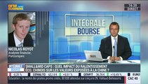 """Ralentissement chinois: """"Pour l'instant, il n'y a pas de gros risques identifiés sur les valeurs exposées en Chine"""": Nicolas Royot - 31/08"""