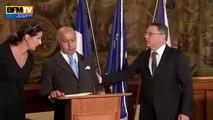 Laurent Fabius victime d'un bref malaise à Prague