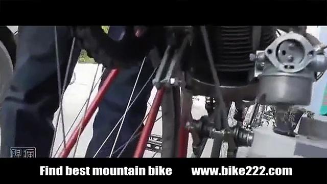Motorcycles   Open crank engine
