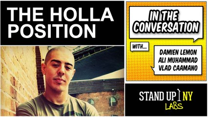 IN THE CONVERSATION - The Holla Position Featuring Jozen Cummings