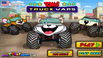 Tom And Jerry Cartoons Racing Monster Trucks Animals - Cartoon Games For Kids - Songs Of Katy Perry