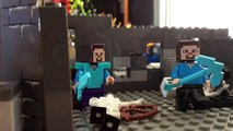 Lego Minecraft Survival Ep 3: Pimped out Gangstas