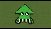 Minecraft Нотные блоки - Splatoon рок или поп!