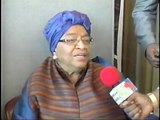 S.E.Mme Président Ellen Johnson Sirleaf du Liberia a l'ONU