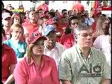 Chavez en inauguración Clínica Popular de El Valle al reiniciar su programa televisivo y radial Alo Presidente número 323 (5)