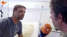 Interview mit Jens Voigt nach seinem Sturz