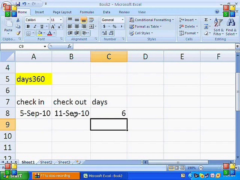 How to set basic formulas in MS Excel Tutorial Urdu/Hindi Part 20