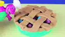 play doh barney bakery with toy story rex dinosaur play doh pie play dough cake play doh food part 3