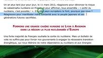 'Sortir du Nucléaire'=EELV=Hollande=Sarkozy=Chaine humaine contre-productive du 11 mars 2012