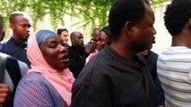 Occupation de l'ambassade de Mauritanie à Paris le 04/09/2013 par les mauritaniens. Act 3