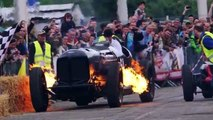 Top Gear The Brutus Bomber bmw and The Spitfire Bentley