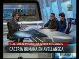 Alberto Santillán y Federico Orchani en A24 informe especial a 12 años de la Masacre de Avellaneda.