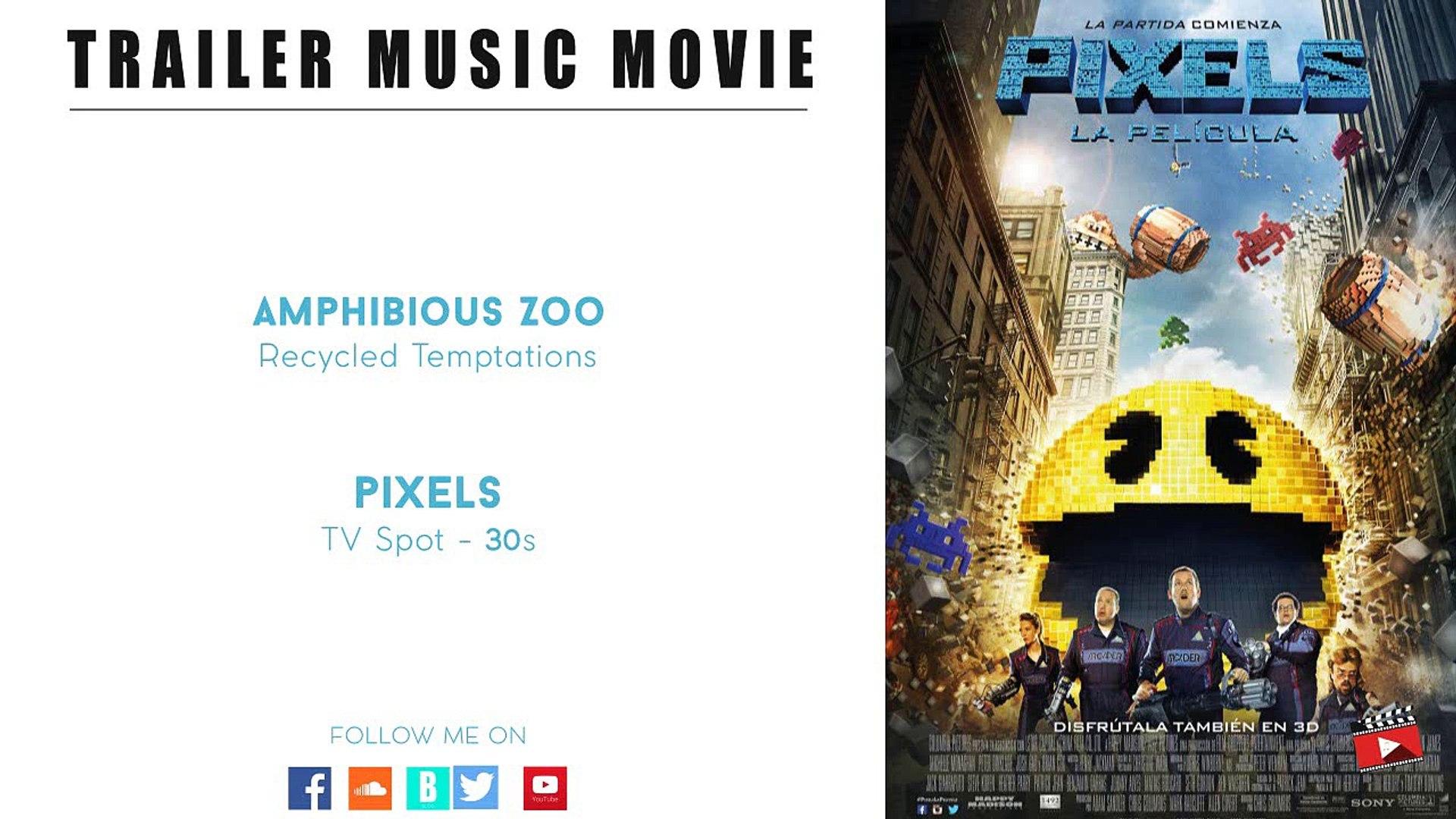 Amphibious Pelicula pixels tv spot - 30s - (amphibious zoo music - recycled