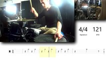 How to play Enter Sandman - Metallica (Drums)