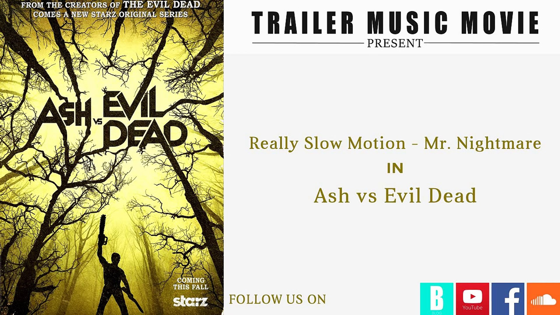 Ash Vs Evil Dead Trailer Music Really Slow Motion Mr Nightmare Video Dailymotion Последние твиты от mr nightmare (@mista_nightmare). dailymotion