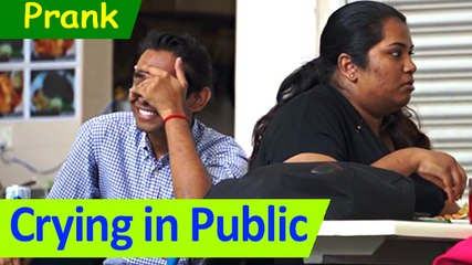 Crying Prank in Public | Prank Asia