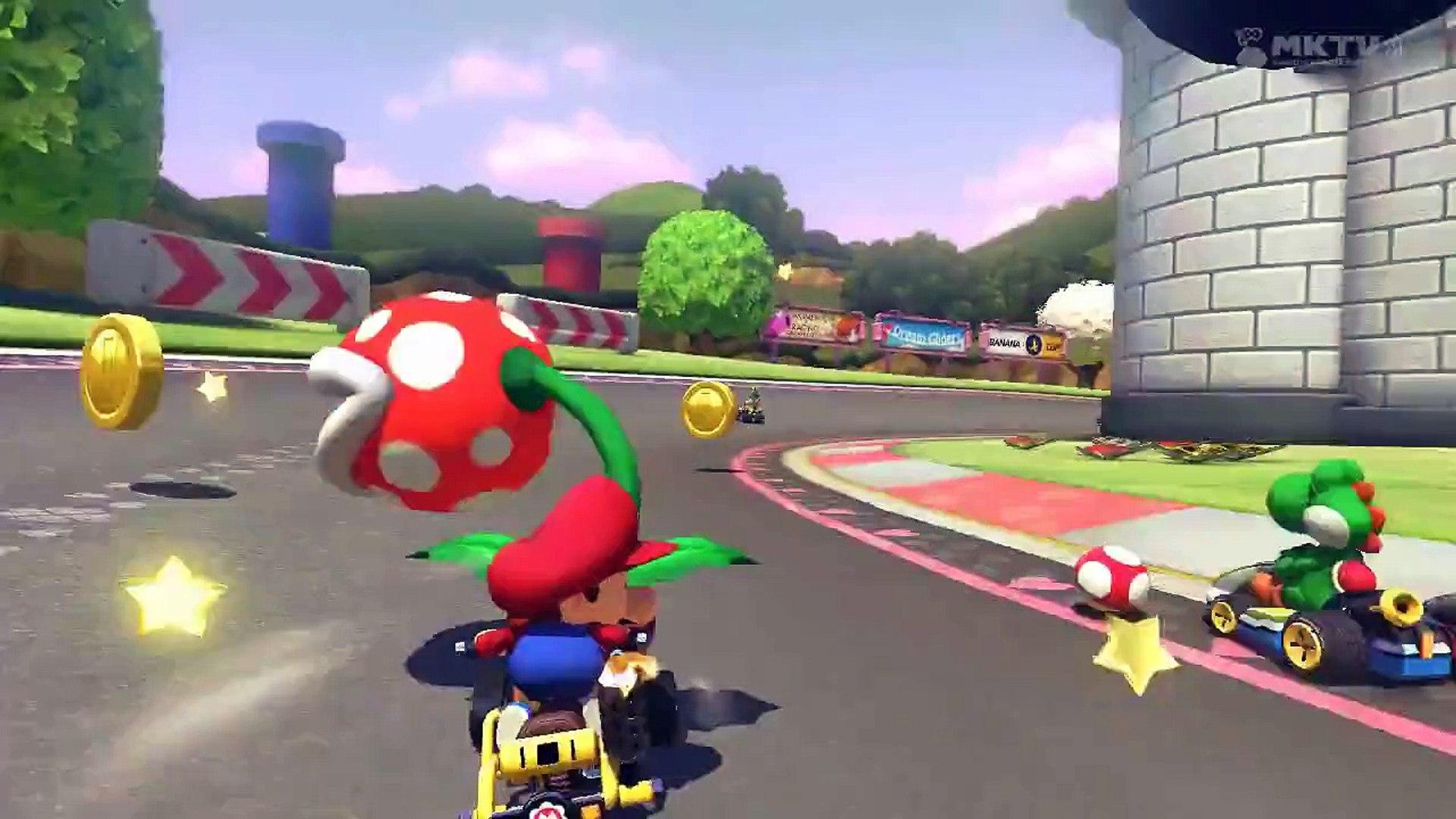 Wii U Mario Kart 8 N64 Royal Raceway Lucky Final Lap