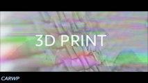 IMPRESSÃO 3D Peugeot Fractal Concept 2015 Elétrico 4x4 aro 19 204 cv 0-100 kmh 6,8 s 1.000 kg @ 60 FPS