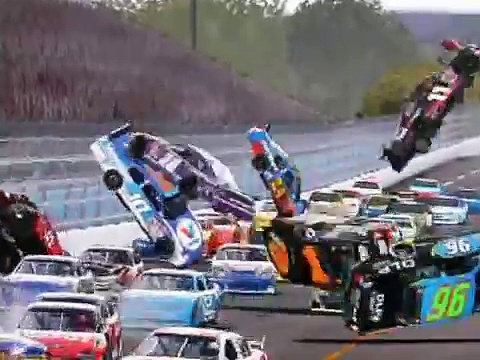 Nascar Crash Montage