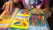 3 different kinds of twistable crayons,erasable colored pencil, and cool drawing paper review!!!!!!