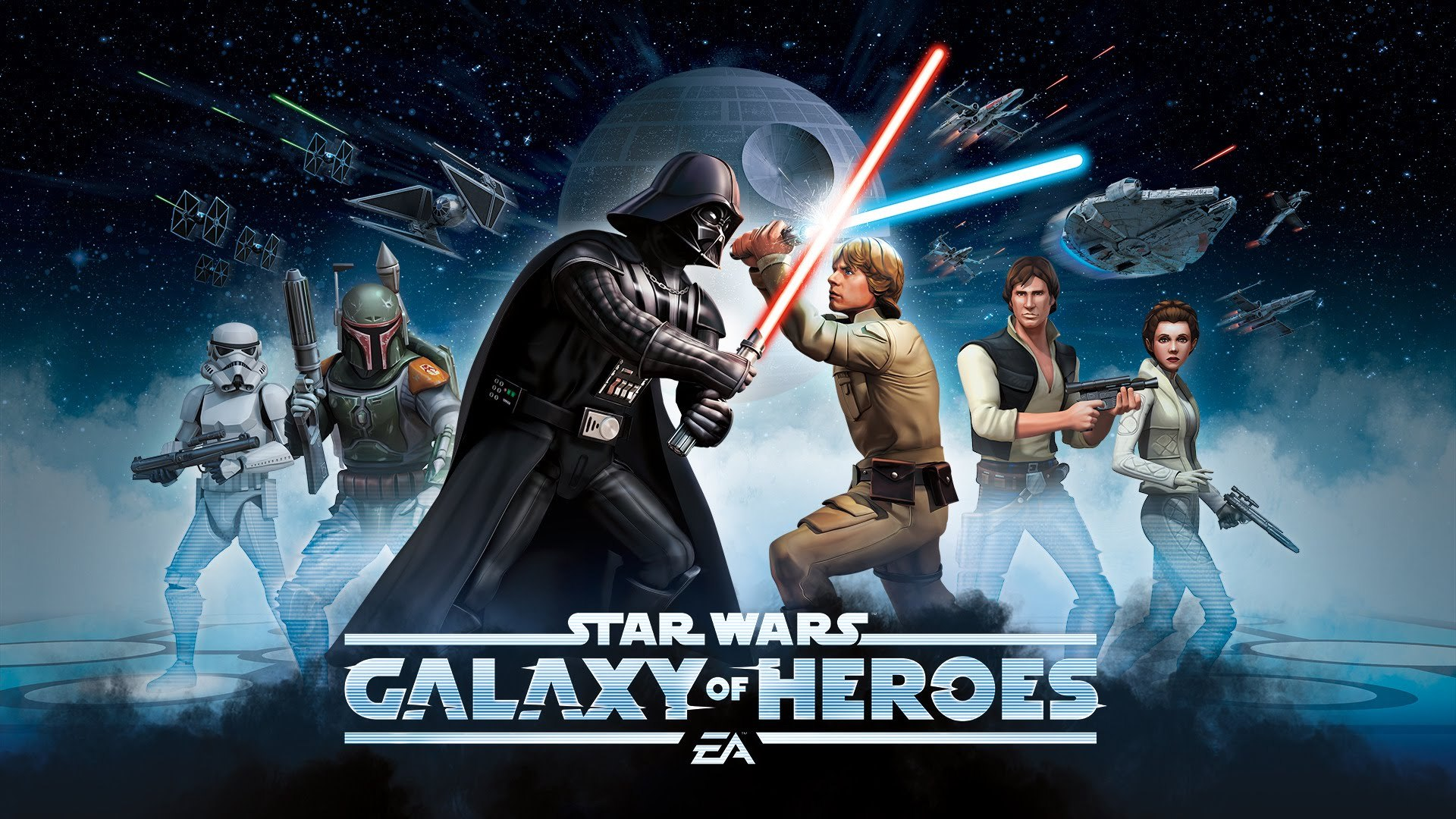 Star Wars Galaxy Of Heroes Official Announce Trailer Video Dailymotion